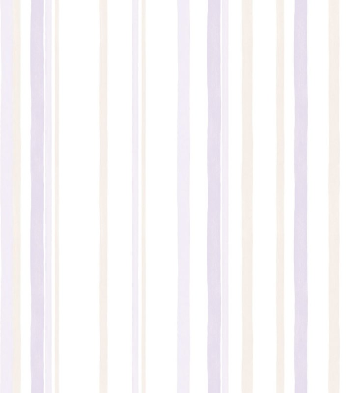 Papel de Parede Infantil Listra Lilás - Coleção Brincar 3628