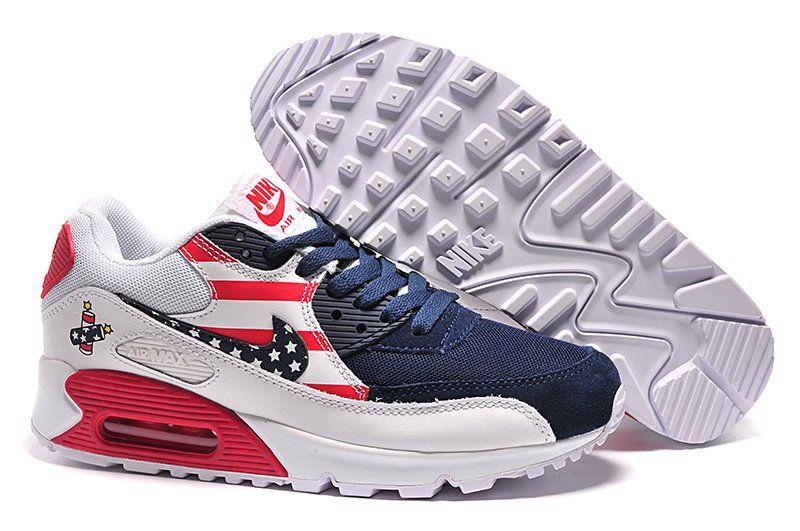 676cb66554059 Nike Air Max 90 Branco EUA - 30% de desconto - Americantennis ...
