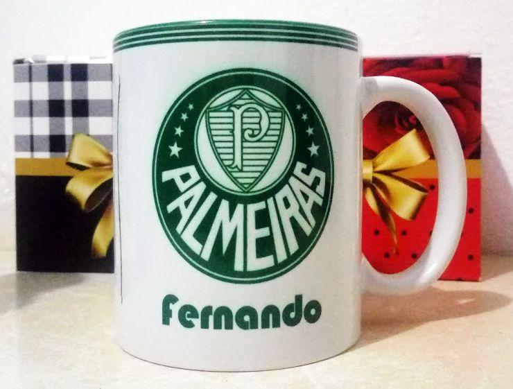e5c0ae35e0 Caneca Palmeiras Símbolo 1917 + Nome Personalizado