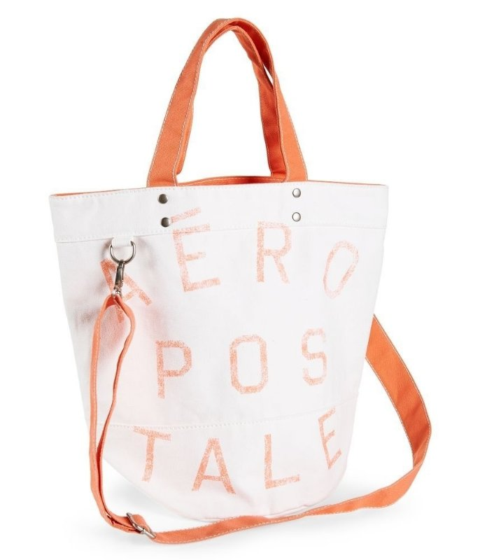 Bolsa Feminina Aeropostale : Pin bolsa aeropostale tote lila mochila doble asas