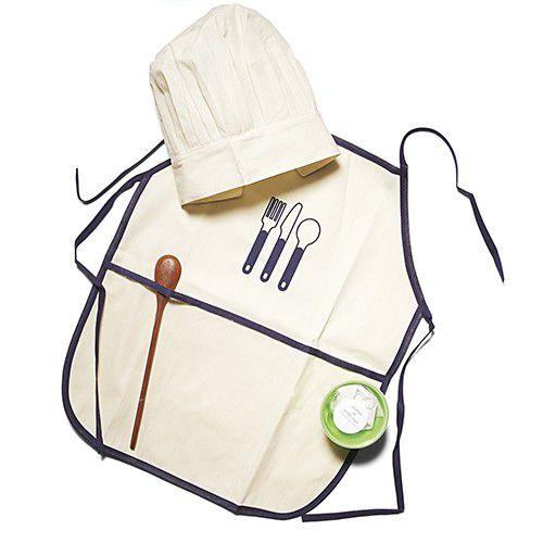Avental Infantil Kit Mestre Cuca