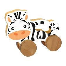 Carrinhos animais - Zebra