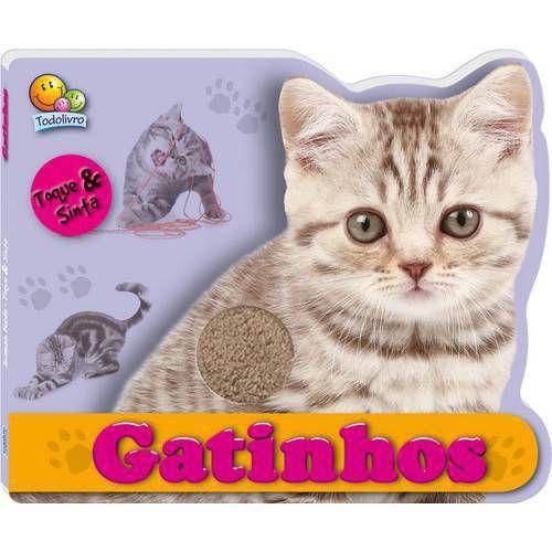 Gatinhos- Animais bebês- Coleção Toque e sinta