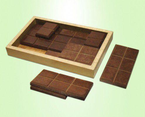 Quebra-cabeça Barra de Chocolate