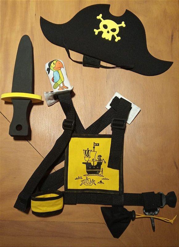 Capitão Pirata- Kit Faz de Conta