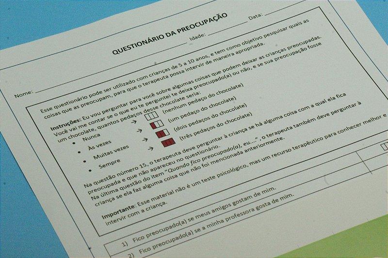 Questionário da Preocupação em PDF