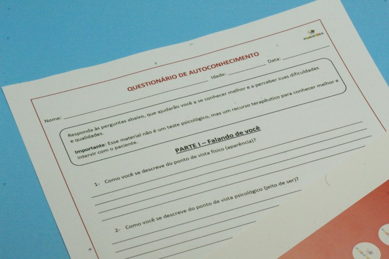 Questionário de Autoconhecimento para Adolescentes em PDF