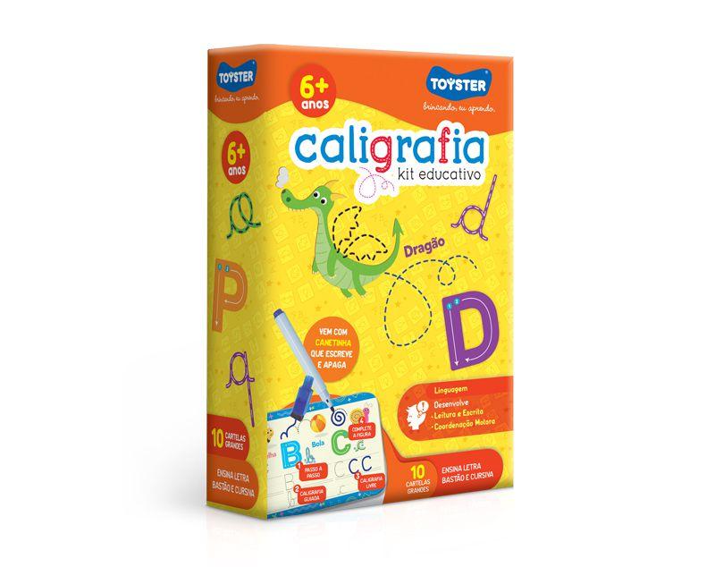 Caligrafia - Kit educativo
