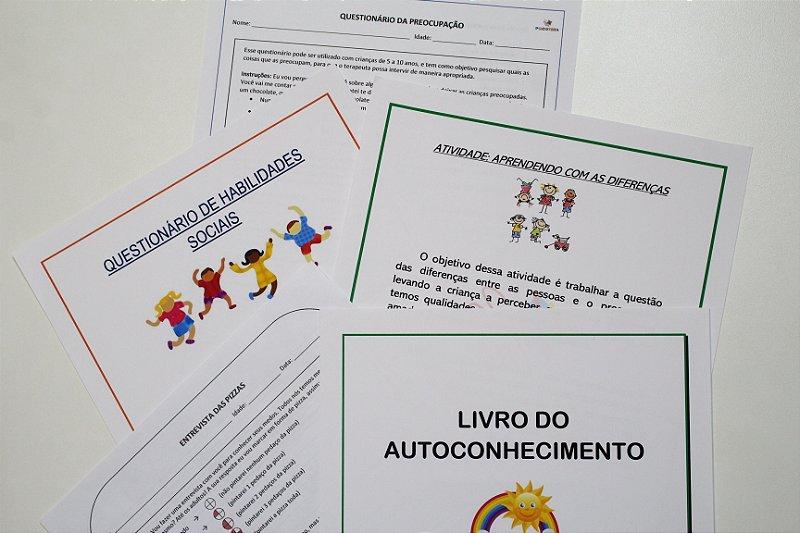 Combo Criança de Materiais de Intervenção em Psicologia/ Psicopedagogia - PDF