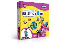 Conhecendo o Sistema Solar - 120 peças
