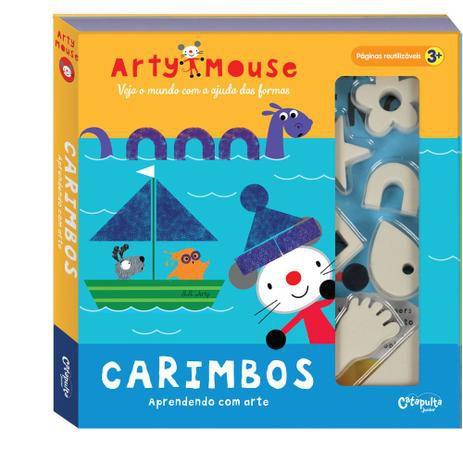 Arty Mouse- Livro com Carimbos