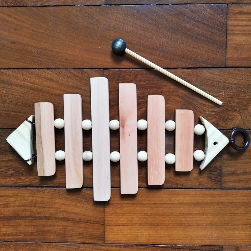 Peixe Sonoro Instrumento Musical Infantil