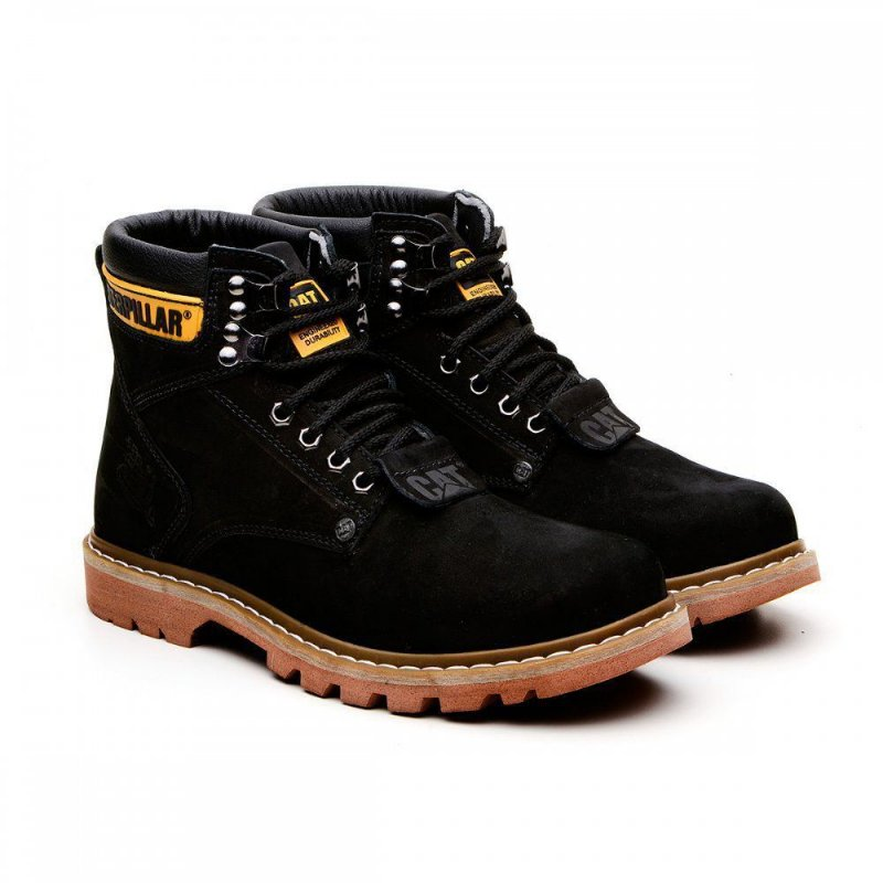 -Bota Caterpillar Second Shift Preto