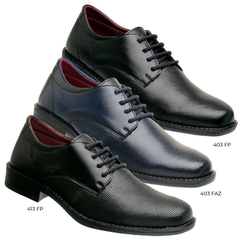 Kit 3 pares oxford rocksider alth