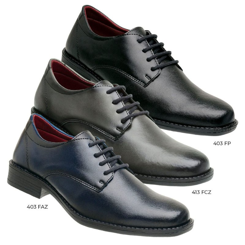 kit 3 pares oxford moc urban
