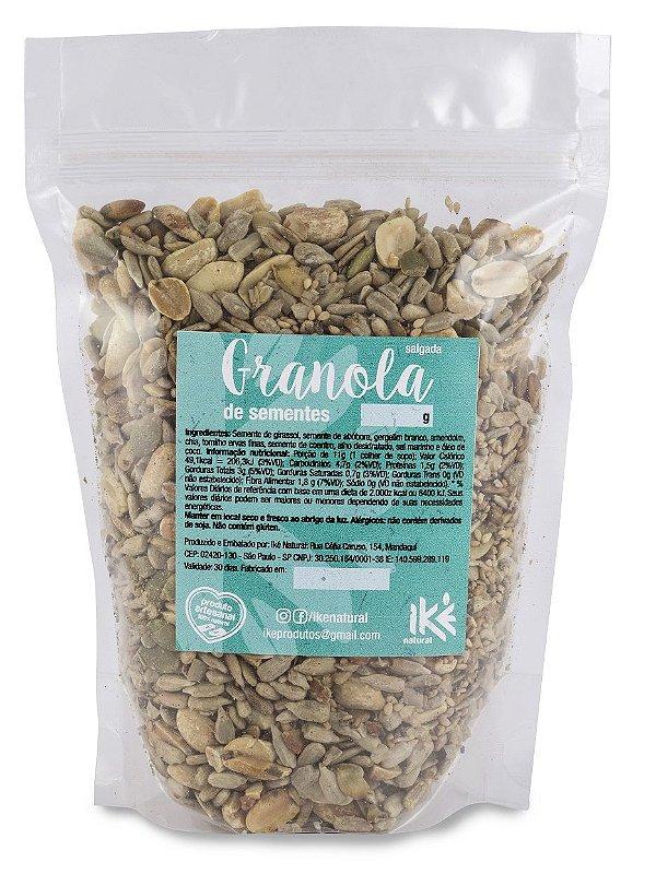 Granola Salgada de Sementes e Especiarias (500g) *Produto Vegano*