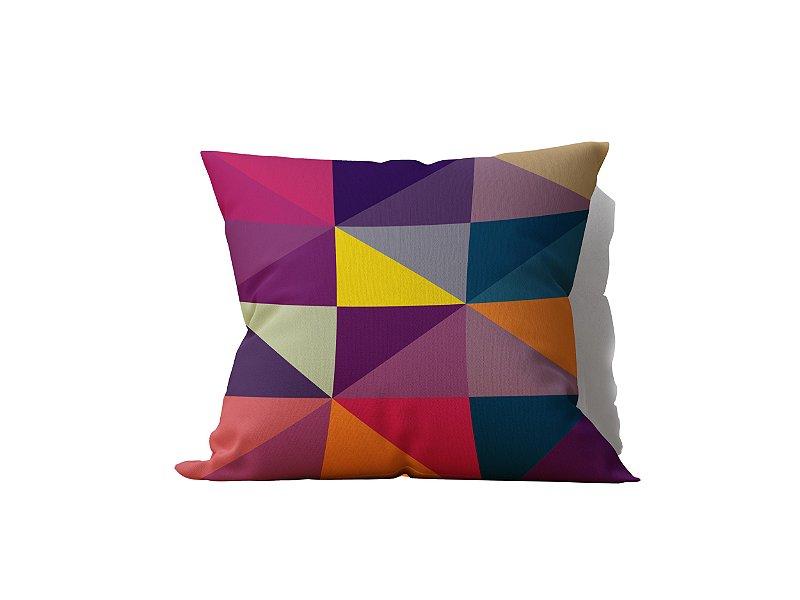 Almofada Decorativa Geo Color - 45x45 - by AtHome Loja