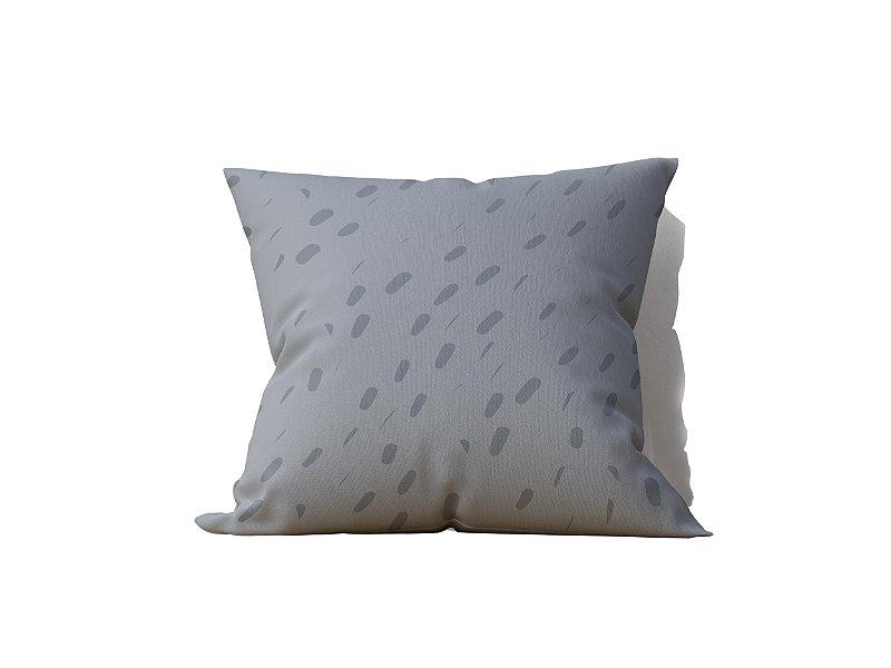 Almofada decorativa Pintas in Grey - 45x45 - by AtHome Loja