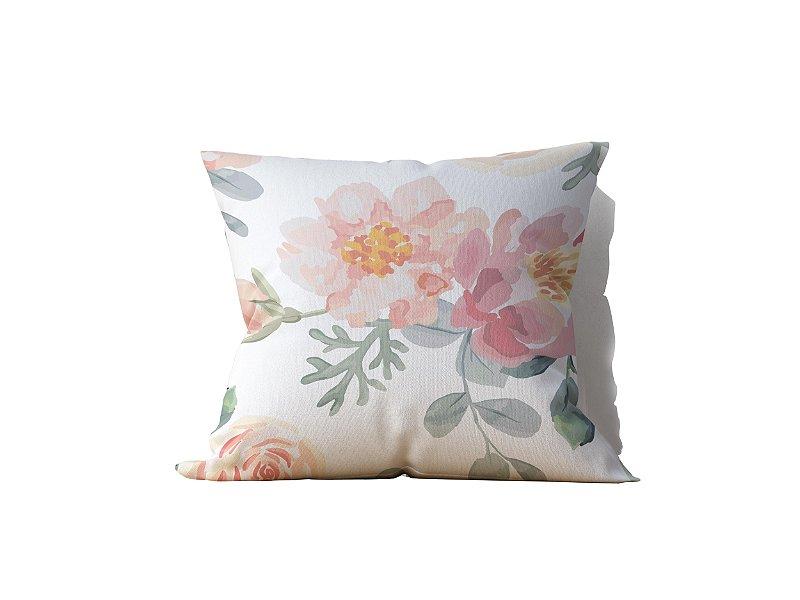 Almofada decorativa Flor in Nature - 45x45 - by AtHome Loja
