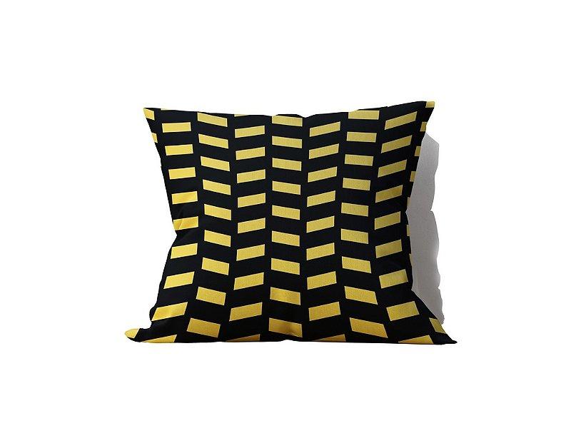 Almofada Decorativa Negra in Gold - 45x45 - by AtHome Loja