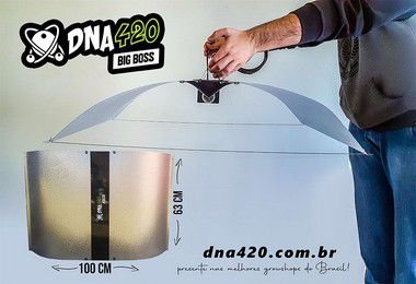 Kit 10 - Refletor aberto Big Boss