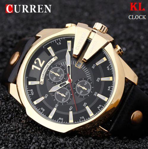 341058a9da4 Relógio Masculino Original Curren Elegance - KL Clock