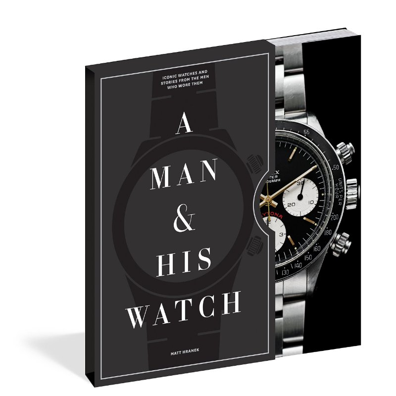 LIVRO: A Man and His Watch: Iconic Watches and Stories