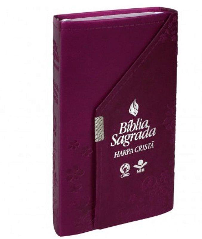 Bíblia Carteira com Harpa Cristã
