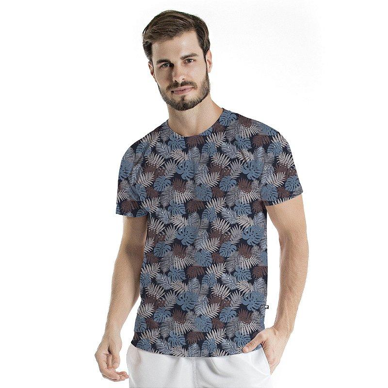 Camiseta Básica Adulto Costela Adão Azul