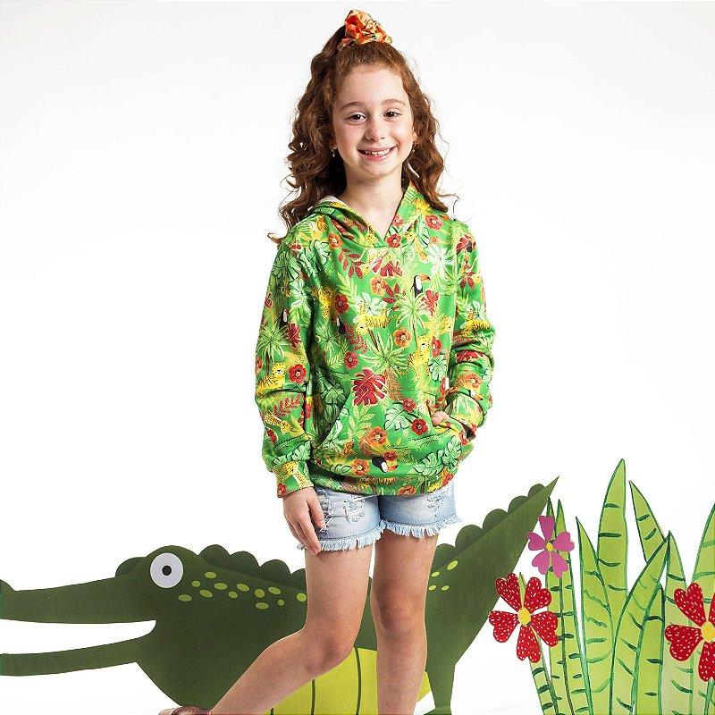 Moletom Infantil Unissex Fauna e Flora