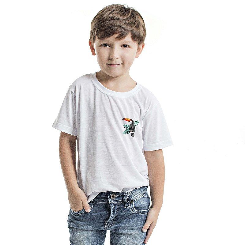 Camiseta Básica Infantil Tucano