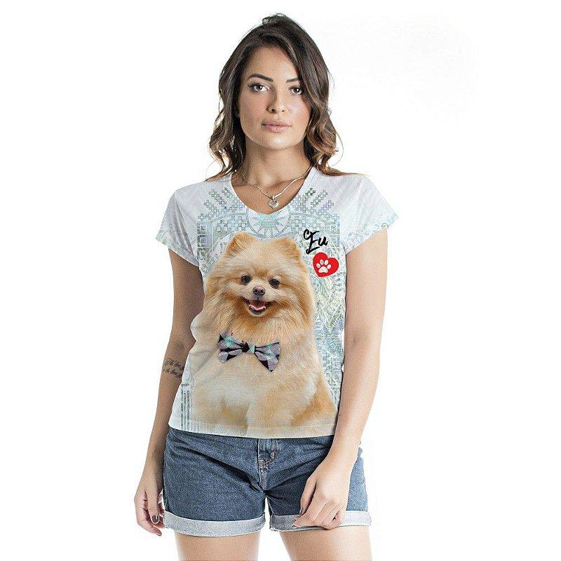 Blusa Florata Dog