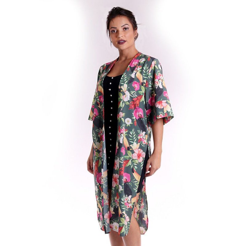 Kimono Atena Orquídeas