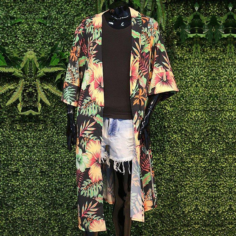 Kimono Atena Hibiscos