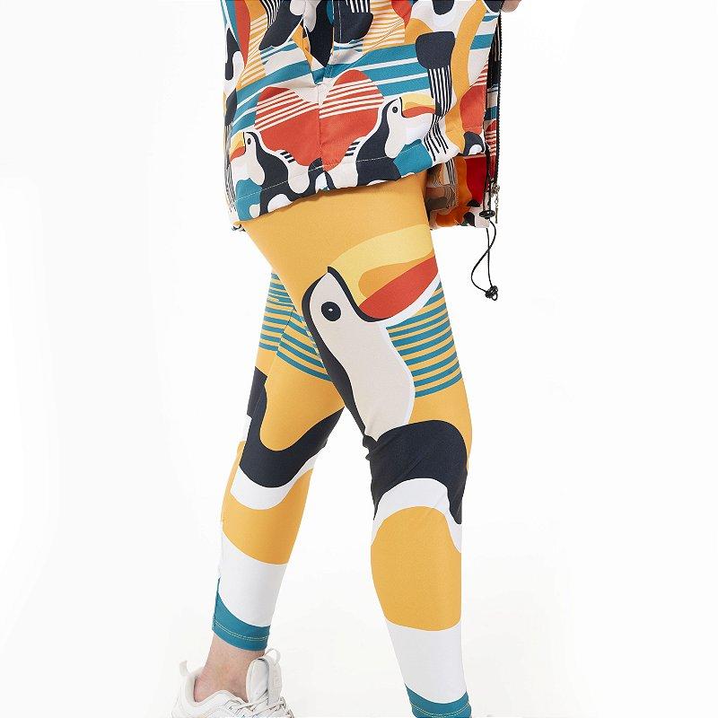 Calça Legging Tucanos Amarelo