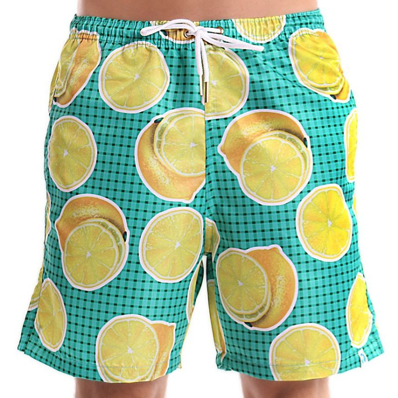 Bermuda Masculino Adulto Limão