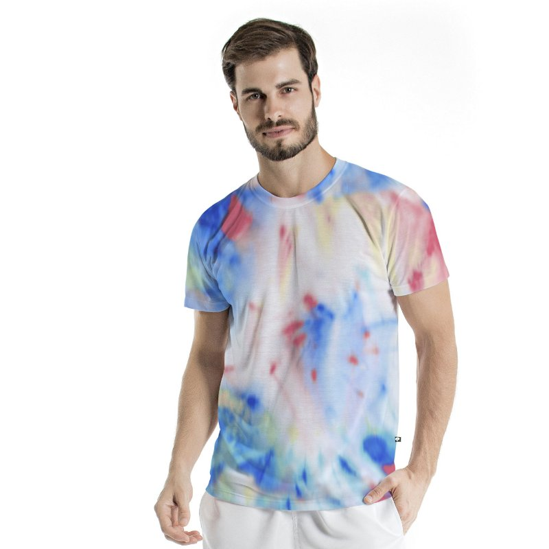 Camiseta Básica Adulto Tie Dye Candy