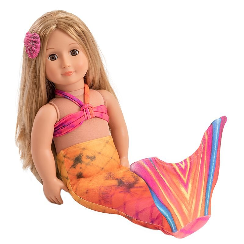 Cauda para bonecas Arco Íris