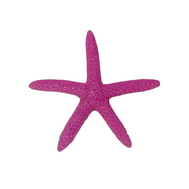 Presilha Estrela Palito Rosa