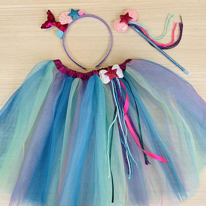 Kit Fantasia Carnaval mágico