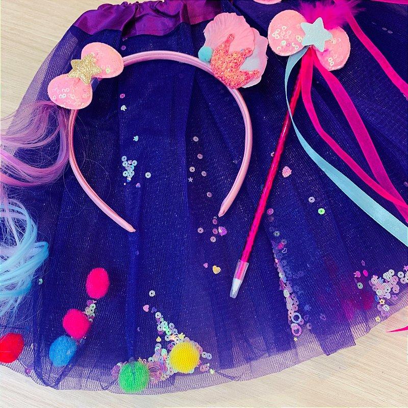 Kit Fantasia Carnaval Confete