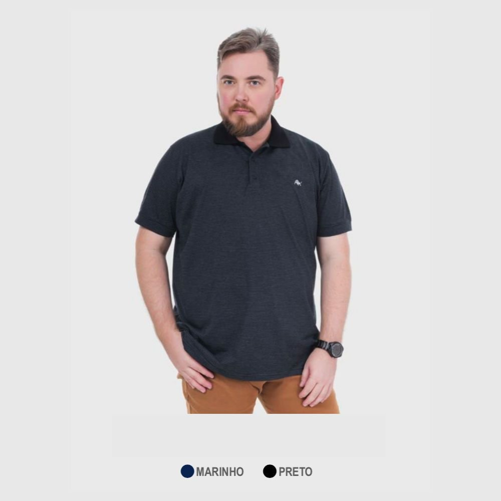 ... Kit 20 Camisas Polo Masculinas Plus Size do G1 ao G8 RCA Têxtil -  Imagem 6 ... 4be04a0326a03