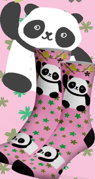 Meias Fun Panda
