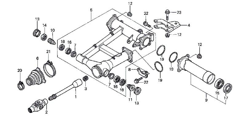 retentor 42x58x10 vedador de  u00d3leo bra u00e7o oscilante honda