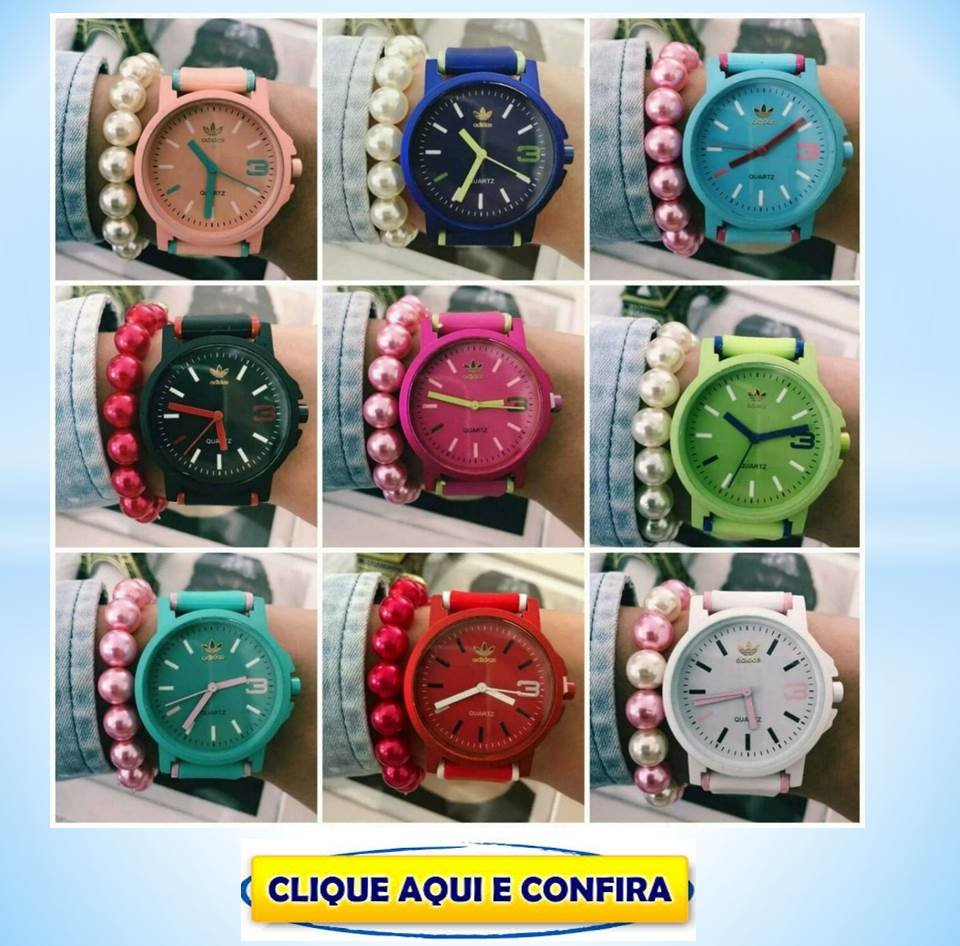 cafad8d5159 Replicas de Relógios Adidas Feminino Primeira Linha Atacado Revenda