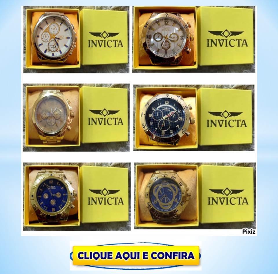 0e92ab09d65 Replicas de Relógios Invicta MK CK G Shock Atacado Feira De Santana ...