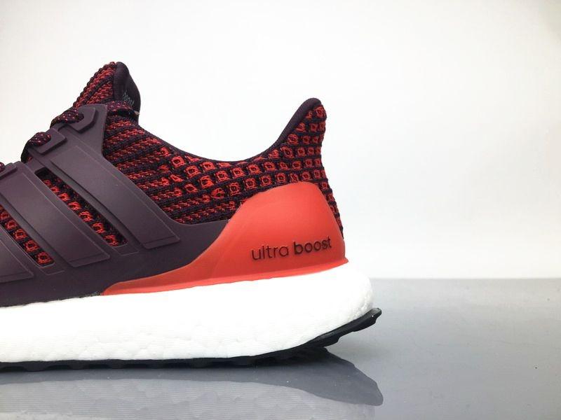 253c0d1291 Tênis Adidas Ultraboost 4.0 Masculino - Burgundy - Shoes Hub - Seu ...