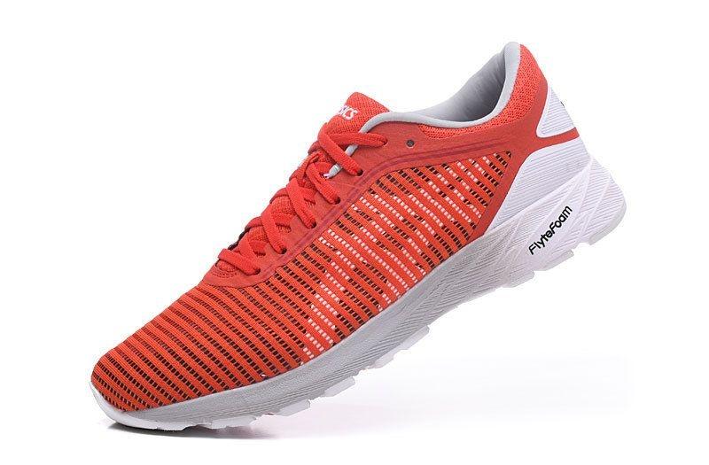 Tênis Asics DynaFlyte 2 - Masculino - Laranja e Branco - Shoes Hub ... 39c581d8b3647