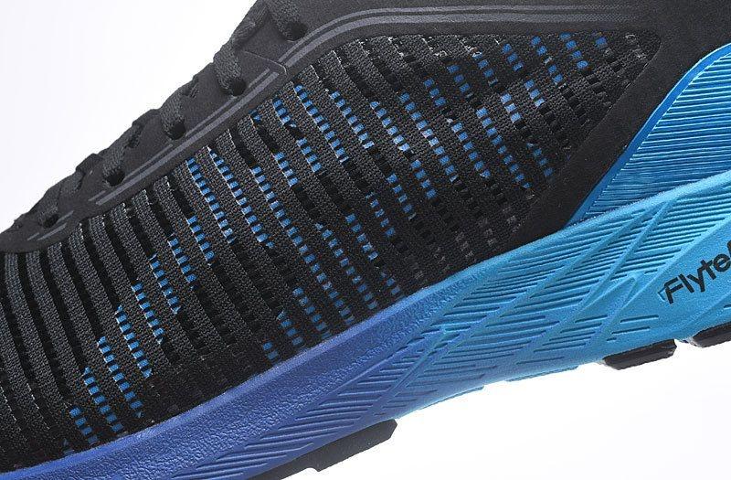 Tênis Asics DynaFlyte 2 - Masculino - Preto e Azul - Shoes Hub - Seu ... 37ab790a6f50b