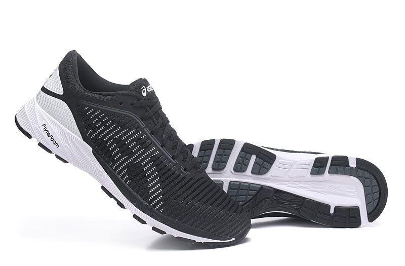 Tênis Asics DynaFlyte 2 - Masculino - Preto e Branco - Shoes Hub ... f58849917066d